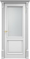 Межкомнатная дверь Итальянская легенда Сосна 112Ш ДГФ Эмаль белая багет