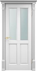 Межкомнатная дверь Итальянская легенда Сосна 15Ш ДОФ Белая эмаль