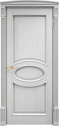 Межкомнатная дверь Итальянская легенда Сосна 26Ш ДГФ Белый воск Багет
