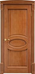 Межкомнатная дверь Итальянская легенда Сосна 26Ш ДГФ Орех 10% Багет