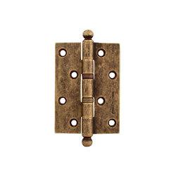 Петли дверные Melodia 522A Античное серебро