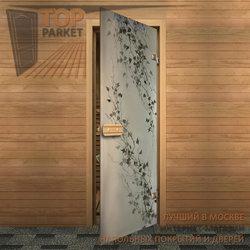 Стеклянная дверь Bella Cosa Березка