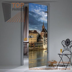 Стеклянная дверь Bella Cosa Building