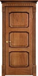 Межкомнатная дверь Итальянская легенда Дуб Д7/3 Орех 10% с патиной