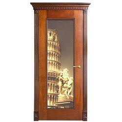 Межкомнатная дверь Оникс Александрия-1 с фотопечатью