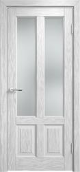 Межкомнатная дверь Мадера ДО  Винтаж 15 Браш Белая эмаль