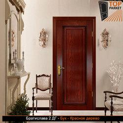 Межкомнатная дверь из массива бука Братислава 2 ДГ