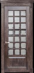 Межкомнатная дверь Альверо ДО Диана, Орех черный