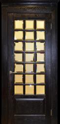 Межкомнатная дверь Альверо ДО  Диана, Венге серебро