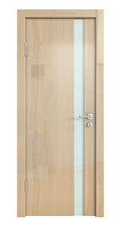 Межкомнатная дверь Дверная Линия ДО-507 Анегри светлый стекло белое