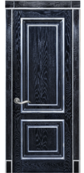 Межкомнатная дверь Альверо Екатерина, Черный жемчуг