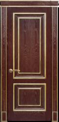 Межкомнатная дверь Альверо Екатерина, Гранат золото