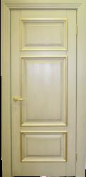 Межкомнатная дверь Альверо  Елизавета 4, Олива Патина Золото