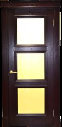 Межкомнатная дверь Альверо ДО Елизавета 5, Гранат Черный