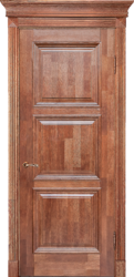 Межкомнатная дверь Альверо ДО Елизавета 5, Орех