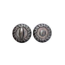 Накладка дверная сантехническая Forme Античное серебро