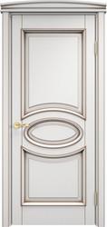 Межкомнатная дверь Итальянская легенда Ольха 26 Грунт+патина орех