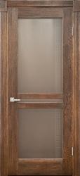Межкомнатная дверь Альверо ДО Афина, Орех