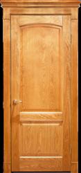 Межкомнатная дверь Альверо ДО Ника, Дуб Натуральный