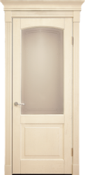 Межкомнатная дверь Альверо ДО Виктория, Беленный дуб