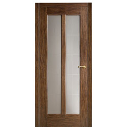 Межкомнатная дверь Оникс Лагуна со стеклом