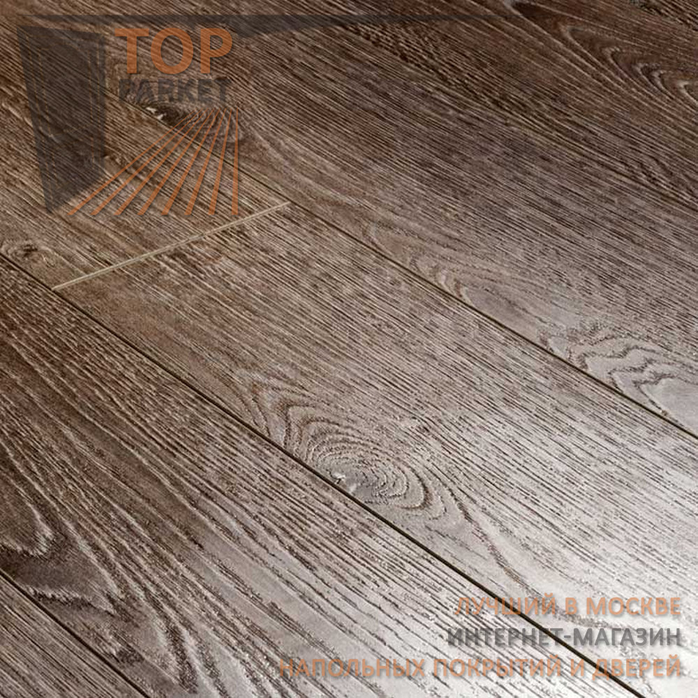 Ламинат Ecoflooring Brush Wood Дуб Дымчатый 33 класс 12 мм (1215х128)