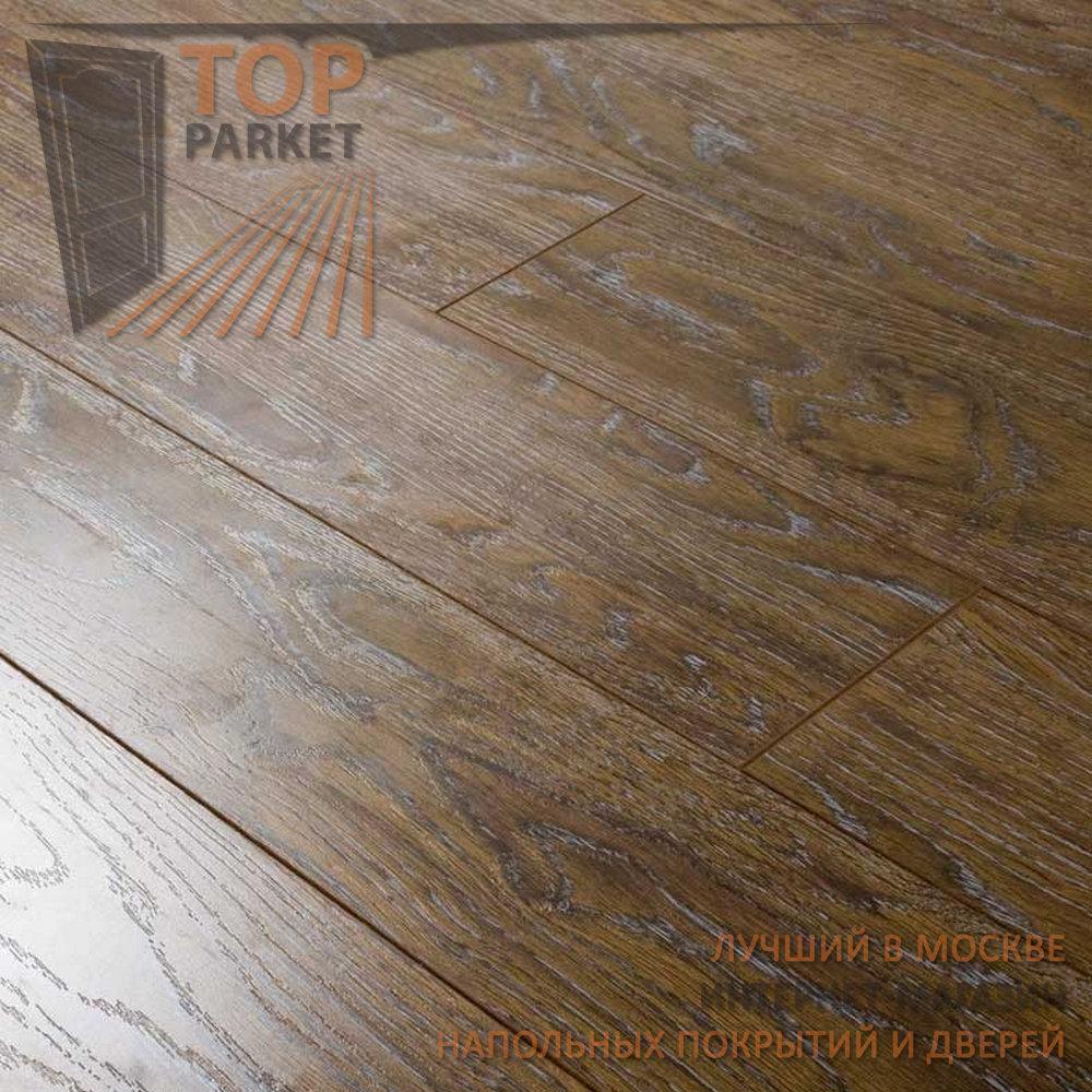 Ламинат Ecoflooring Brush Wood Дуб Ранчо 33 класс 12 мм (1215х128)
