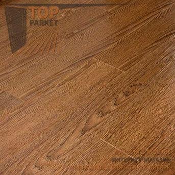 Ламинат Ecoflooring Brush Wood Дуб Шоколад 33 класс 12 мм (1215х128)