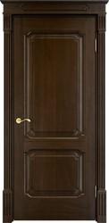Межкомнатная дверь Итальянская легенда Дуб Д7/2 Мореный