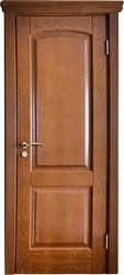 Межкомнатная дверь Альверо Ника, Орех