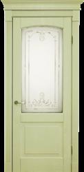 Межкомнатная дверь Альверо ДО Виктория, Олива