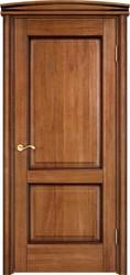 Межкомнатная дверь Итальянская легенда Дуб Д13 Орех 10% + патина