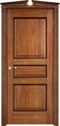 Межкомнатная дверь Итальянская легенда Дуб Д5 Орех 10% + патина