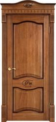 Межкомнатная дверь Итальянская легенда Дуб Д3 Орех 10% + патина