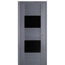 Межкомнатная дверь Оникс Парма со стеклом