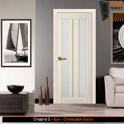 Межкомнатная дверь из массива бука Спарта 2