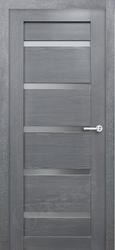 Межкомнатная дверь Оникс Тектон 5 дуб седой