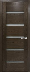 Межкомнатная дверь Оникс Тектон 5 орех тангентальный
