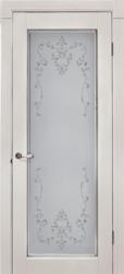 Межкомнатная дверь Альверо ДО Вероника, Беленный дуб