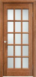 Дверь ОЛ 10(15) Орех 10%