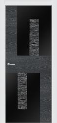 ПО 4 ALUFORM -п-256 (ясень нордик стекло AGS чёрное)