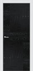 ПО 4 ALUFORM -3-340 (ясень чёрный стекло AGS чёрное матовое)