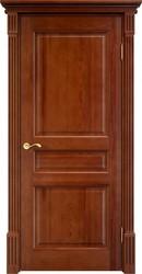 Дверь 5 Ш Багет Коньяк
