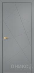 Дверь Концепт №1 эмаль серая