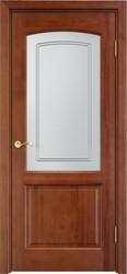 Дверь остеклённая 116 Ш Коньяк