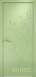 Дверь Концепт №12 эмаль фисташковая