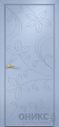 Дверь Концепт №14 эмаль голубая