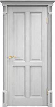 Дверь 15 Ш Белый воск