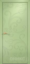 Дверь Концепт №15 эмаль фисташковая