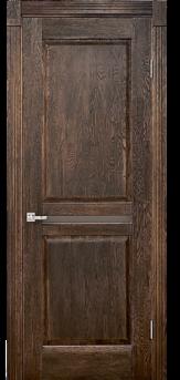 Дверь Альверо Афина, Орех черная патина браш